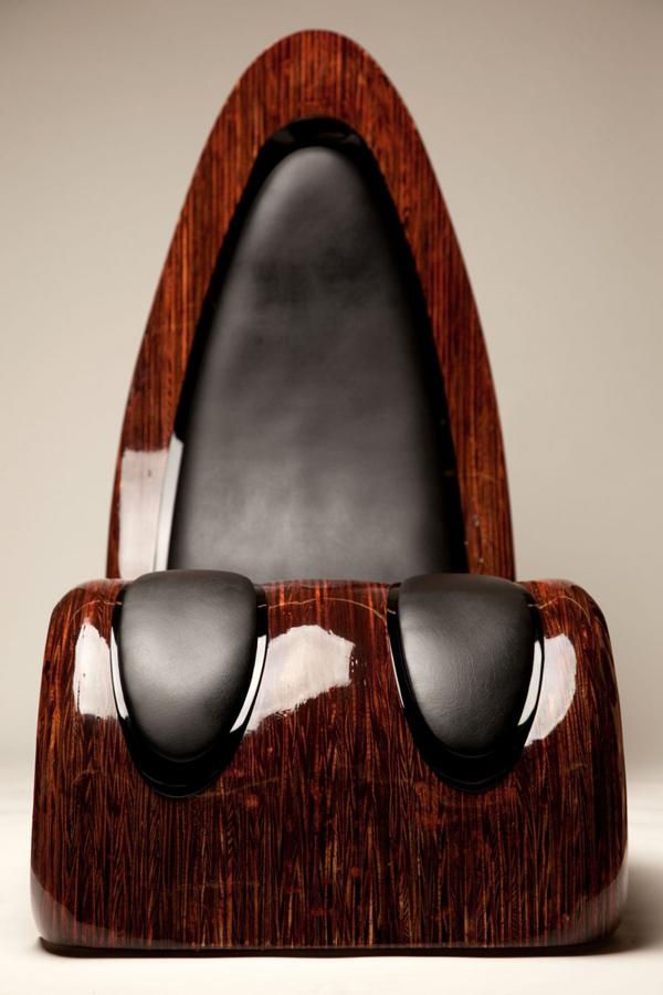 Schöner Designer Lounge Sessel von Kyle Buckner