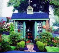 Schickes Häuschen im Garten – 10 frische Ideen