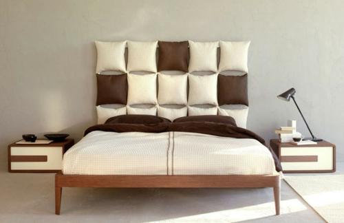 schlafzimmer schlafzimmer in braun und weiss wandgestaltung schlafzimmer tipps zur wandgestaltung im - Wandgestaltung Schlafzimmer Braun