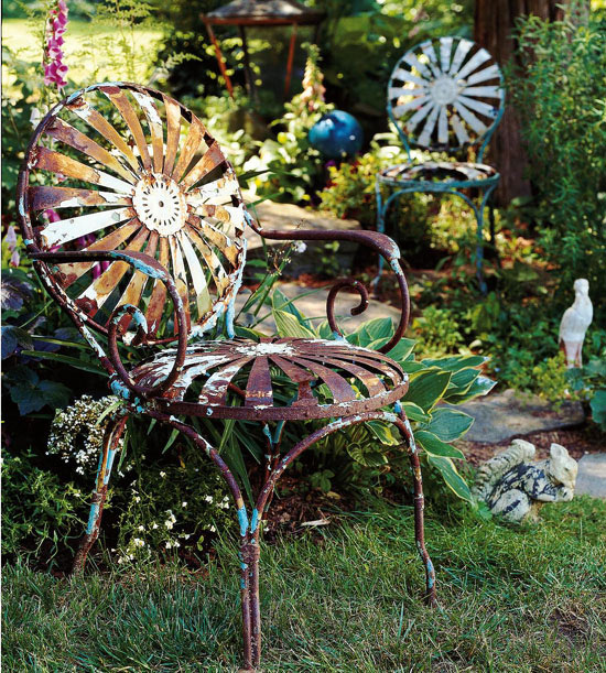 skurrile landschaft design ideen unfunktional dekorativ
