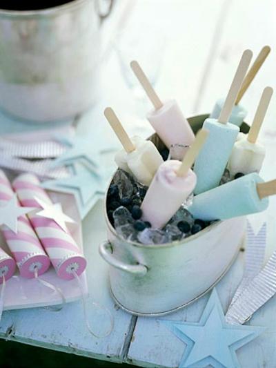 Sommer deko ideen zeigen sie ihren silbernen tafelschmuck - Sommer dekoration basteln ...