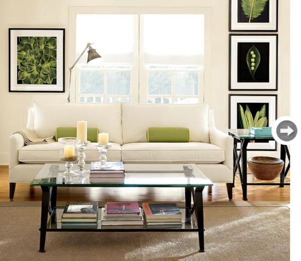 sommer deko ideen holz sofa weiß frische