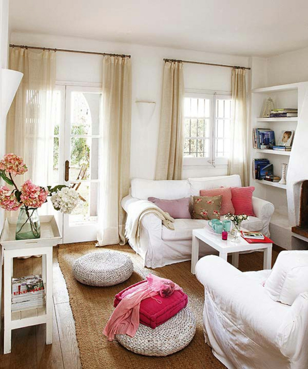 design : wohnzimmer rosa weiß ~ inspirierende bilder von ... - Rosa Wohnzimmer Deko