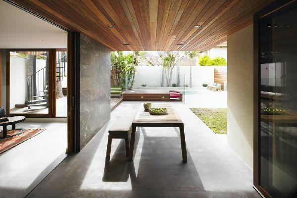 sommer gestaltungsideen integrierte räume garten wohnzimmer