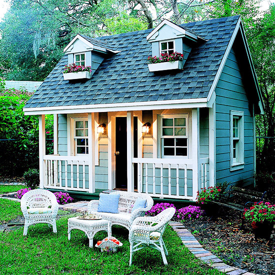 wundersch ne ideen f r spielhaus im garten oder auf dem hof. Black Bedroom Furniture Sets. Home Design Ideas