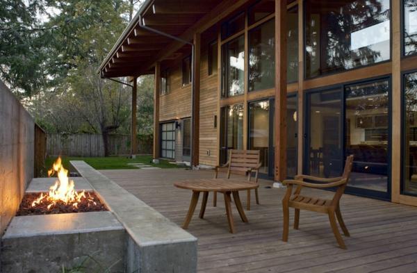 TerrassenUberdachung Holz Design ~   Terrassenüberdachung Ideen  extravagante Designs aus aller Welt