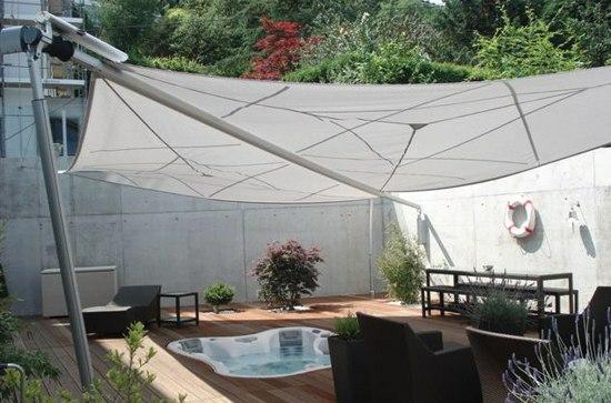 balkon sonnensegel coole ideen fr die heien sommertage terrassen ideen - Terrassen Ideen