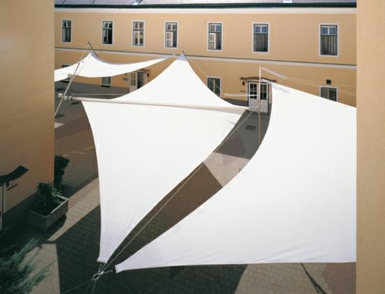 terrasse sonnensegel schattenspender designer ideen