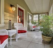 Veranda Design Ideen – Gestalten Sie Ihre Veranda stilvoll und gemütlich!