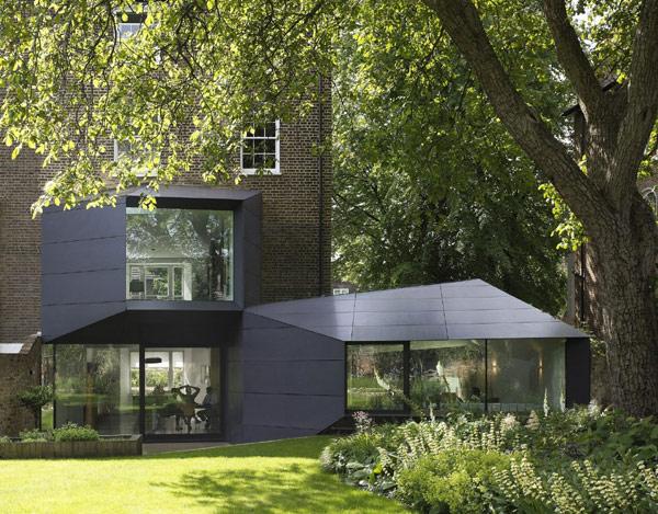 viktorianische villa lens house london garten neubau