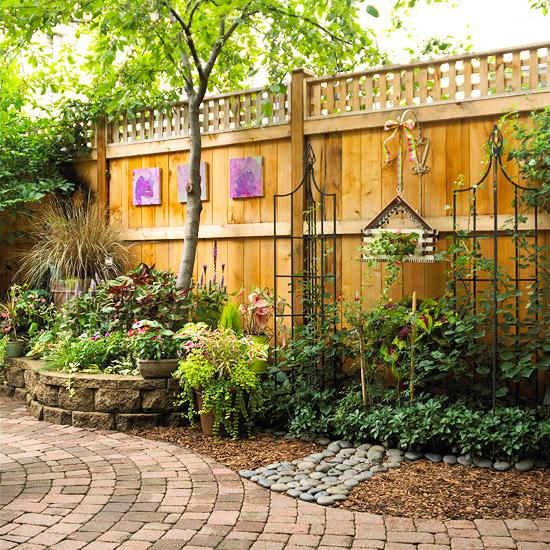 Garten Wanddeko http freshideen com wp content uploads 2013 04 zaun garten gitter