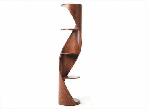 DNA möbel designs holz freistehend regale