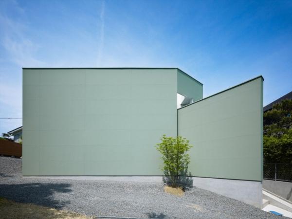 Minimalistisches architekten haus von fujiwarramuro architects for Haus formen
