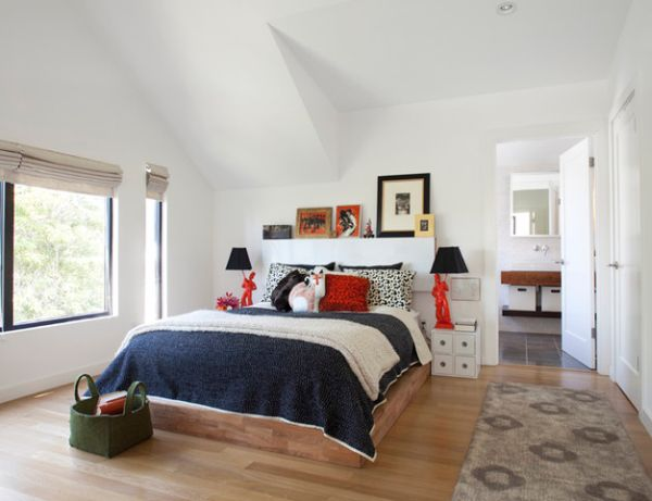 moderne schwarze lampen schirme in interior design mit stil. Black Bedroom Furniture Sets. Home Design Ideas