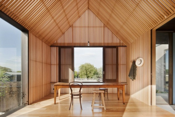 architektur und design australien haus essbereich häuschen