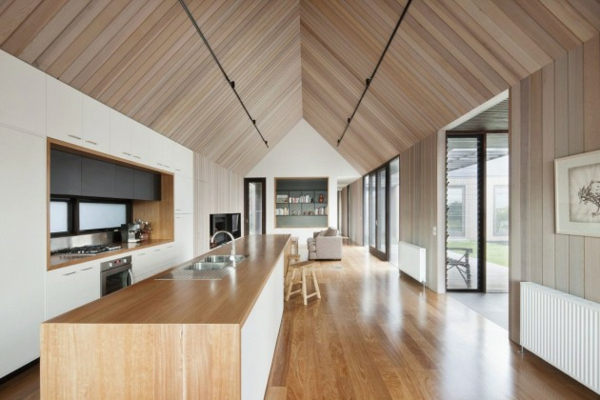 architektur und design australien haus meerblick inneneinrichtung