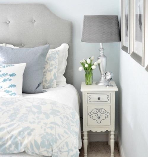 attraktive nacht tisch designs klassisch koncept weiß muster