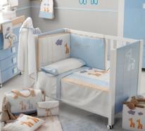 babyzimmer gestalten tolles gitterbett f r moderne babys. Black Bedroom Furniture Sets. Home Design Ideas