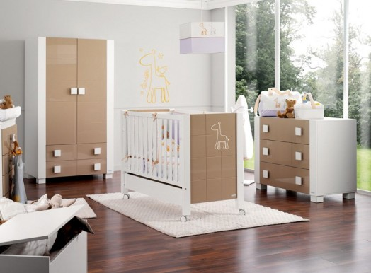 babyzimmer gestalten tolles gitterbett f r moderne babys. Black Bedroom Furniture Sets. Home Design Ideas