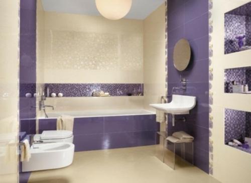 badezimmer design möbel weiblich badewanne blau cremig