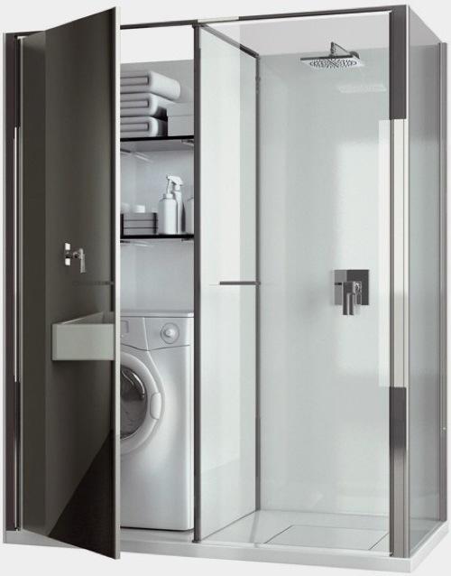 Guarda Aluminio Baño:badezimmer ideen duschkabine glas combo vismaravetro
