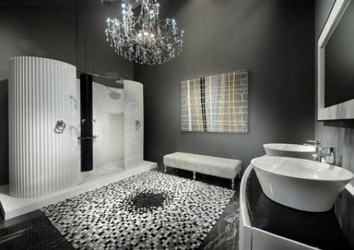 25 best ideas about banheiros decorados com pastilhas on pinterest - Badezimmer Ideen Moderne Duschkabinen Designs