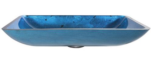 badezimmer ideen waschbecken irruption blue vessel kraus