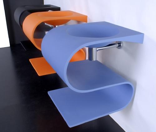badezimmern ideen waschbecken sonolo resin tendadorica