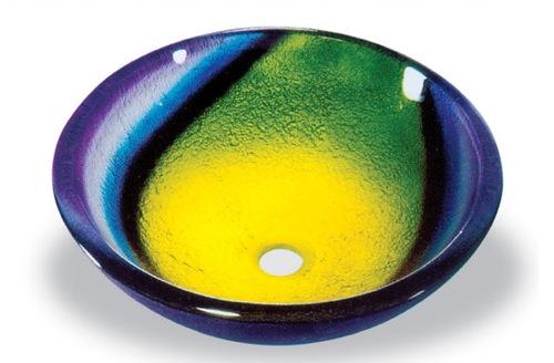 badezimmer ideen waschbecken vessel onyx sink