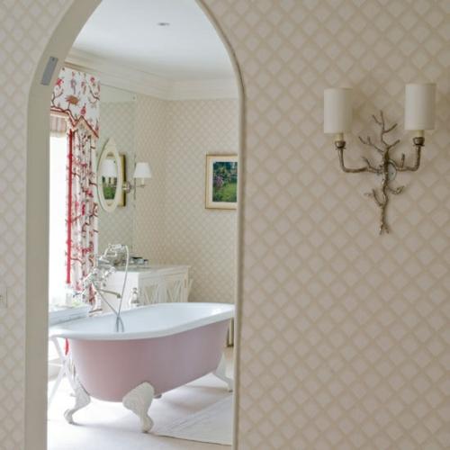 badezimmer möbel weiblich gardinen badewanne