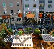 Balkon gestalten – coole Ideen zum Selbermachen