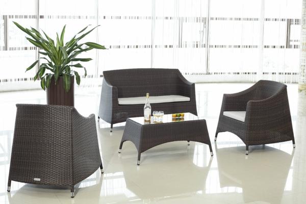 außenmöbel aus rattan gartenmöbel lounge sessel sofa tisch