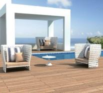 Balkon Möbel aus Rattan – coole Designer Ideen