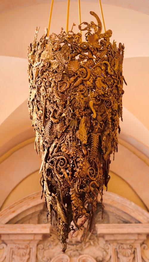 barock möbel design aus brasilien beistelltisch cool kronleuchter