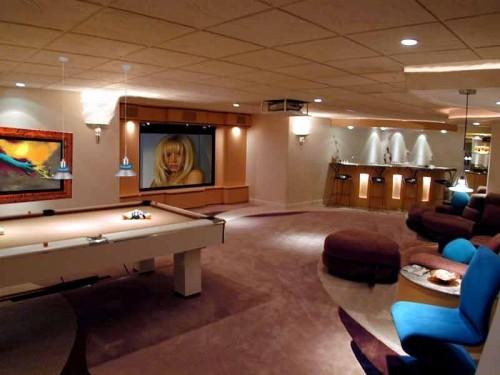 10 Billard Raum Dekoration Ideen U2013 Spielzimmer Für Erwachsene ...