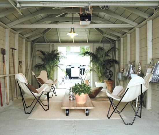 buntes garage design alt raum neues leben