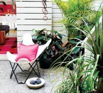 Buntes Garage Design – Neugestaltung von der alten Garage
