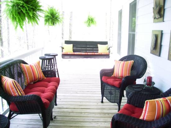 prächtiges garten veranda terrasse design