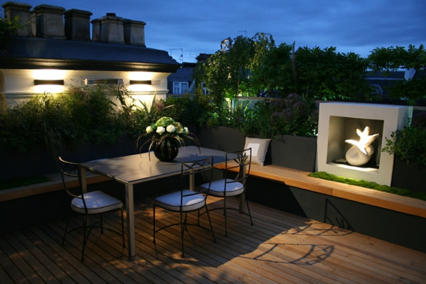 top ideen f r coole dachterrasse designs sch ne dachterrasse bauen. Black Bedroom Furniture Sets. Home Design Ideas