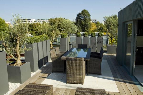 terrazza Terraces Roof idee : Top Ideen f?r coole Dachterrasse Designs - sch?ne Dachterrasse bauen