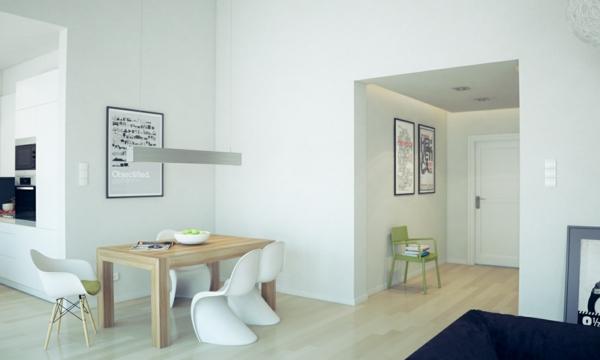 Coole Esszimmer Designs In Weiß U2013 Aufregende Designer Vorschläge ...