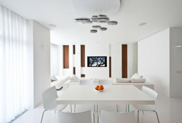 coole esszimmer designs essbereich esstisch ogange wohnbereich - Esszimmer Weiss