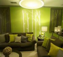 Coole Farben für Wohnzimmer - Elegante, schöne Farbschemas ...