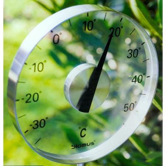 coole garten dekoration im sommer thermometer durchsichtig glas luft
