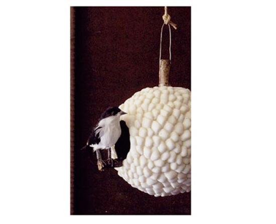 coole garten dekoration im sommer vogelhaus selber machen