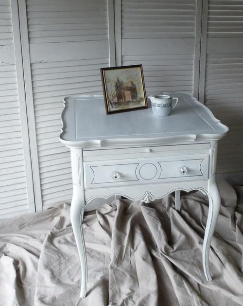 coole handbemalte möbel designs französisch nachttisch cottage studio poppy