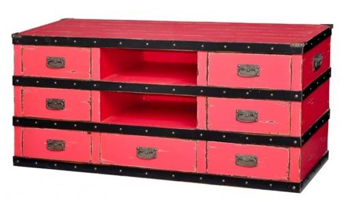 handbemalte möbel designs pink fernsehtisch steven shell
