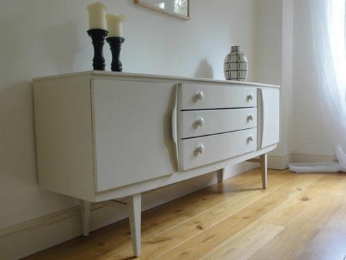 retro handbemalte möbel designs retro kommode
