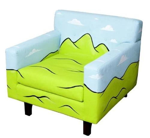 coole handbemalte möbel designs sessel philip lumbang