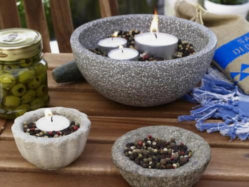 Deko Ideen Grau ~ 37 Coole Kerzen Ideen Für Den Sommer Schönes Prunkstück